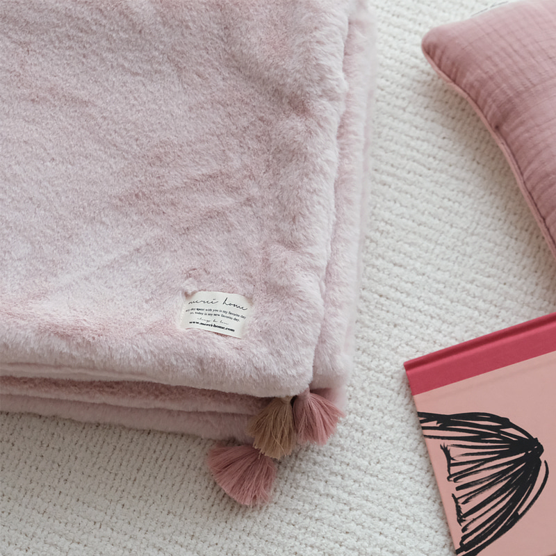 creamy winter blanket (pink)