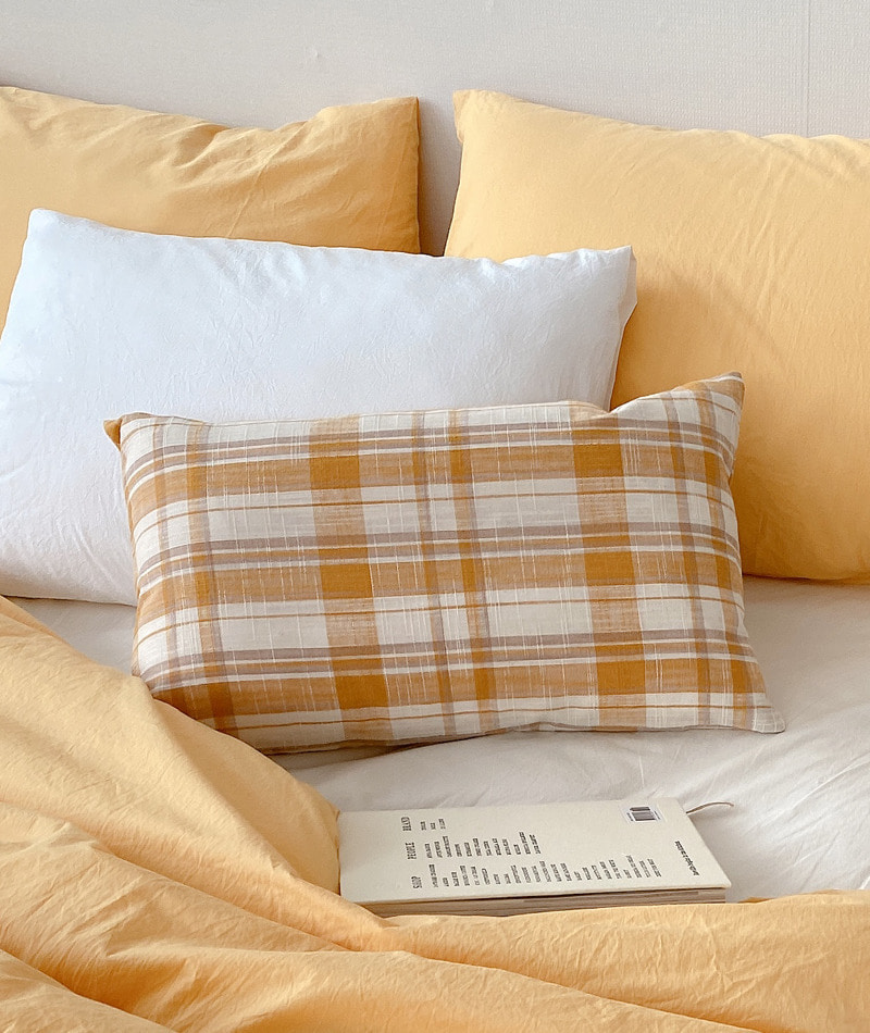 Frang Check Pillow Cover
